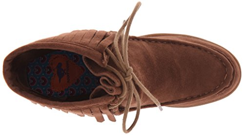 Rocket Dog Sandie Rund Faux Wildleder Mode-Stiefeletten Chestnut