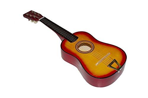 Imagen de juguetutto   gr. naranja. con esta  de madera grande niños de todas las edades se aficionaran a la música y a este precioso instrumento muy español