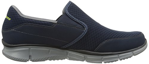 Skechers EqualizerPersistent, Sneaker Uomo Blu (Bleu (nvgy))