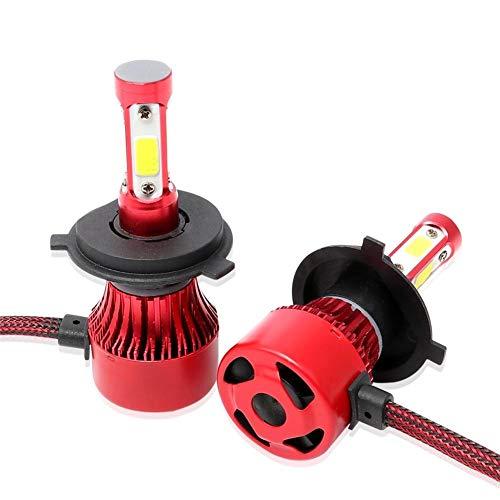 Futurepast LED Scheinwerfer Autoscheinwerfer Kit, Auto Cob Scheinwerfer Birnen, Stärkere Fähigkeit der Antiexplosion, Shakeproof, IP67 Wasserdichte LED Scheinwerferlampe für Auto/KFZ/Fahrzeug by