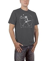 Touchlines Men's Da Vinci Rock Guitar T-Shirt