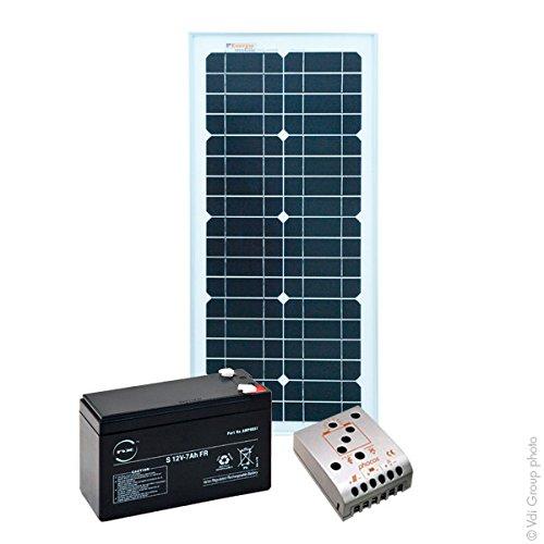 NX - Kit Fotovoltaico con Accumulo XS 12V 25Wc (50Wh/giorno)