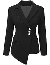 sports shoes 7c1a8 19e05 Amazon.it: giacca pelle donna - Giacche da abito e blazer ...
