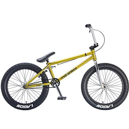Mafiabikes 20 Zoll BMX Bike Kush 2+ Verschiedene Farbvarianten, Farbe:Gold - Kurbel Radio Beste