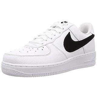 Nike Herren Air Force 1 '07 PRM 2 Basketballschuhe, Weiß (White/Black 102), 42 EU