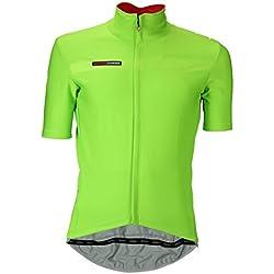 Castelli - Camiseta Gabba 2, Hombre, Gabba 2, Sprint Green, Small