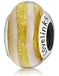 Lovelinks Murano Glass Link 1182964-99