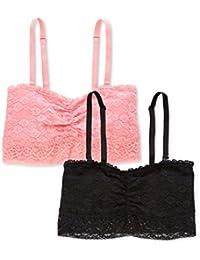 Marca Amazon - Iris & Lilly Sujetador Cotidiana Mujer, Pack de 2