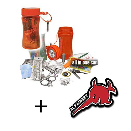 Copytech #15785 Outdoor Survival Set Bear Kit de survie dans 1boîte étanche comprenant lampe LED...