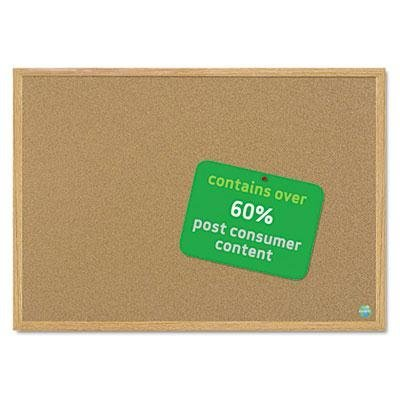 Mastervision - Earth Cork Board 24 X 36 Wood Frame Product Category: Presentation/Display & Scheduling Boards/Bulletin Boards by MasterVision (Cork Mastervision Board)