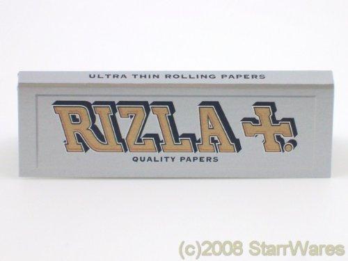 Rizla Argento Cartine Per Rollare Sigarette - 5 Pacchetti