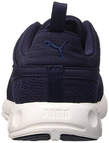 Puma Carson Camo, Baskets Basses Mixte Adulte Bleu (Peacoat/Whit 03)