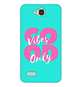 Happoz Huawei Honor Holly Cases Back Cover Mobile Pouches Shell Hard Plastic Graphic Armour Premium Printed Designer Cartoon Girl 3D Funky Fancy Slim Graffiti Imported Cute Colurful Stylish Boys D417