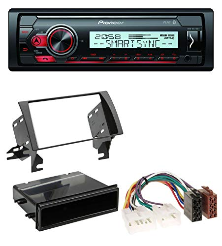 caraudio24 Pioneer MVH-MS410BT USB MP3 Bluetooth AUX Autoradio für Toyota Camry (2002-2006) (Aux Toyota Camry 2004)