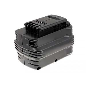 Batterie pour Dewalt perceuse à percussion visseuse DW006, 24V, NiMH [ Batterie outil électroportatif ]
