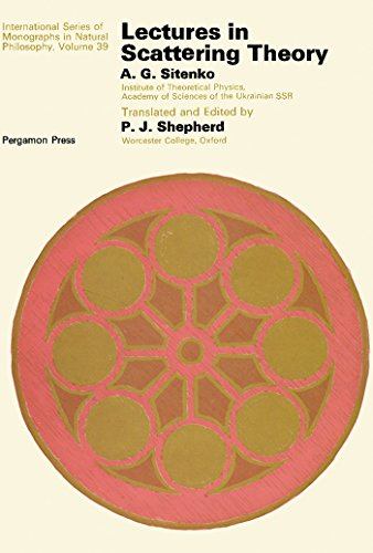 Lectures In Scattering Theory: International Series Of Monographs In Natural Philosophy por P. J. Shepherd epub