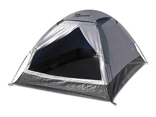 Bertoni Tende Mono 2 Tenda da Campeggio Ultraleggera, Argento, Unica, Argento, Unica