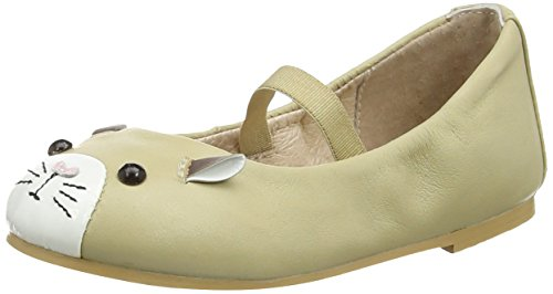 Bloch Hamster, Ballerines fille Beige (Wms)