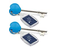 Blue Badge RADAR Keys for Disabled Toilets, Pack of 2