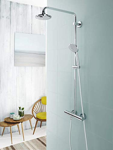 Grohe – Duscharmatur Euphoria mit Thermostatfunktion, DreamSpray, SpeedClean, Chrom - 7
