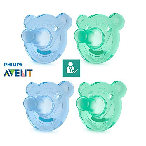 Philips AVENT Chupetes soothie//A Partir 3meses//Talla