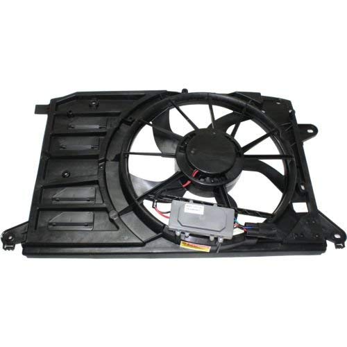 TYC Products 623020 Dual Radiator and Condenser Fan Assembly