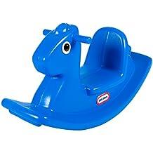 Little Tikes - Balancín caballo, color azul (MGA 16720072)