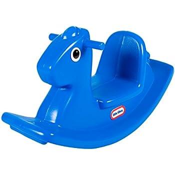 Little Tikes Rocking Horse Blue Amazon Co Uk Toys Amp Games