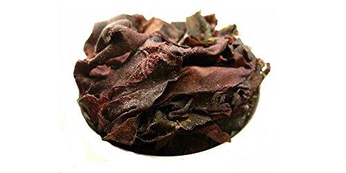 Lappentang (Dulse) aus irischer Wildernte - luftgetrocknet und naturbelassen - Bio (250g) (Roter Smoothie Mixer)