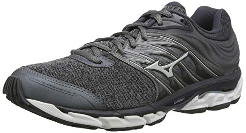 Mizuno Wave Paradox 5, Zapatillas de Running para Hombre, Gris (QuietShade/GlacierGray/Magnet 40), 43 EU