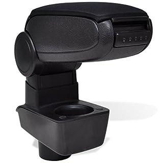 vidaXL Car Armrest Black Arm Rest Centre Console