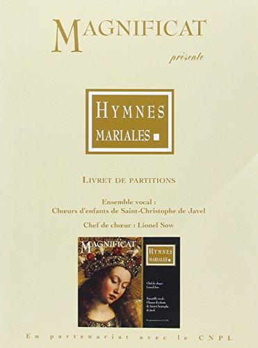 Hymnes mariales : Livret de partitions