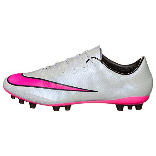NIKE Mercurial Vapor X AG Homme Chaussures de football Gris