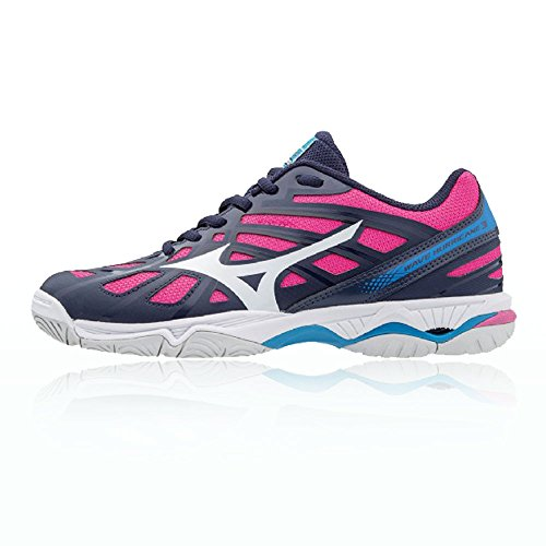 Mizuno Wave Hurricane 3 Women's Chaussure de Basket - AW17 pink