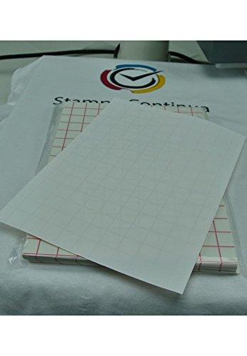 Carta transfer per cotone tessuti chiari stampa inkjet 10 Fogli A4