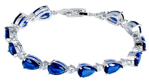 saysure-blue-sapphire-aaa-zircon-stone-bracelets-10kt-white-gold