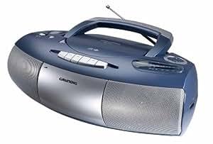 grundig rrcd 1350mp3 radio recordermit cd mp3 player blau. Black Bedroom Furniture Sets. Home Design Ideas