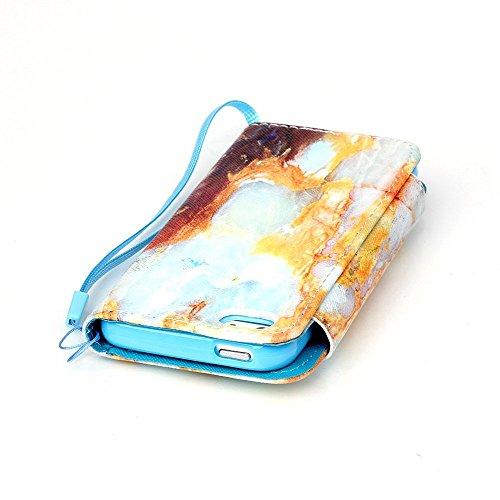 iPhone 5 5S SE Coque,Linvei iPhone 5 5S SE Étui,Linvei Cuir Coque Portefeuille Case avec Silicone intérieure Back cover Pour iPhone 5 5S SE loup