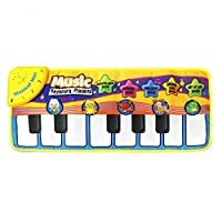 Multifunctional Kids Informative Educational Musical Toys Innovative Musical Kid Piano Play Mat with   Animal Pattern