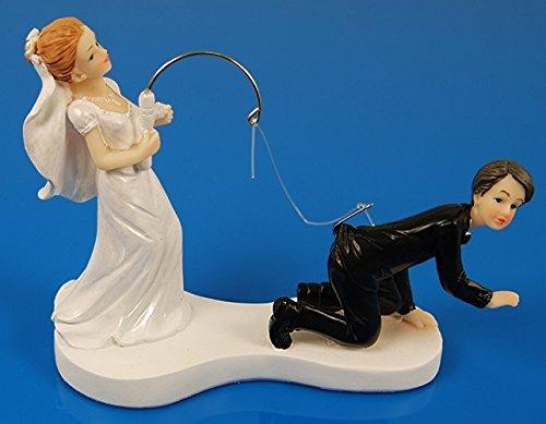 tz Hochzeit lustig Angel Tortendeko Brautpaar Tortenfigur (Lustige Hochzeit)