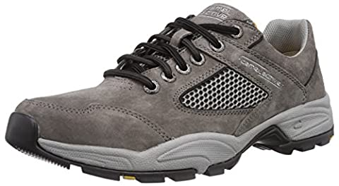 camel active Evolution 11, Herren Oxford Sneakers, Grau (dk.grey), 46 EU (11 Herren UK)