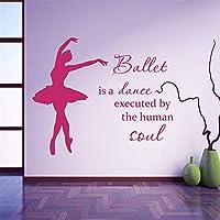 Vinyl Wall Sticker Dance is a Dance Performed by The Art Dancer Ballerina Wall Sticker for The Girls