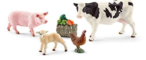 Schleich 41424- Spielzeugfigur, Meine ersten Bauernhoftiere