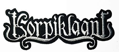 0cd76cbd631 Music K Folk Metal Rock Music Heavy Metal Logo Patch Embroidered Sew Iron  On Patches Badge