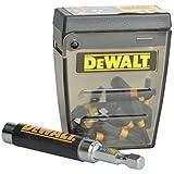 DeWalt DT70618T-QZ - Juego de 15 piezas IMPACT TORSION para atornillar con guía magnética compacta. Puntas de atornillar de 25 mm