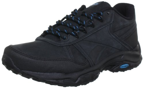 Reebok SPORTERRA CLASSIC IV J93880, Damen Walkingschuhe, Schwarz (BLACK/BUZZ BLUE) (BLACK/BUZZ BLUE), EU 37 (US 6.5)