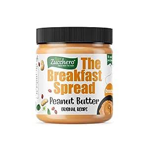 Zucchero Original Recipe Peanut Butter, Crunchy, 200g