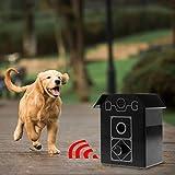 Biniwa – Tapón de ladridos para Mascotas, ultrasónico, Sistema de Control de ladridos, para Colgar Productos de Entrenamiento