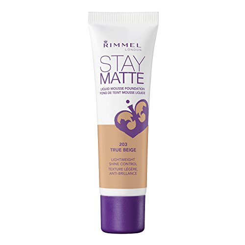 RIMMEL LONDON Stay Matte Liquid Mousse Foundation - True Beige