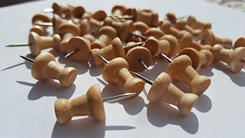 punaises-en-bois-25-broches-couleur-bois-naturel